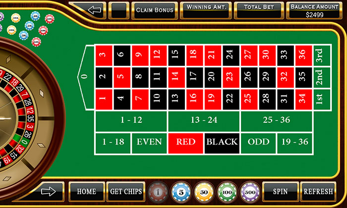 roulette casino game how to play