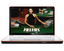 Live casino laptop